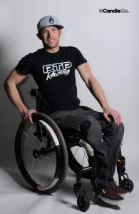 Rob in chair with rtp shirt